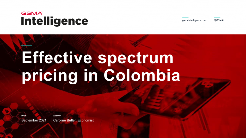 Effective spectrum pricing in Colombia image