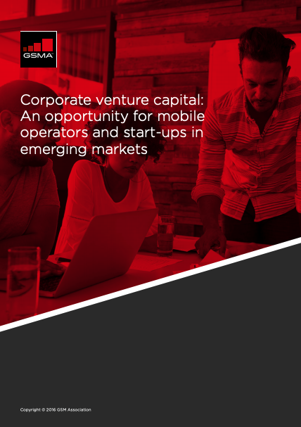Corporate venture capital: An opportunity for mobile operators and start-ups in emerging markets image