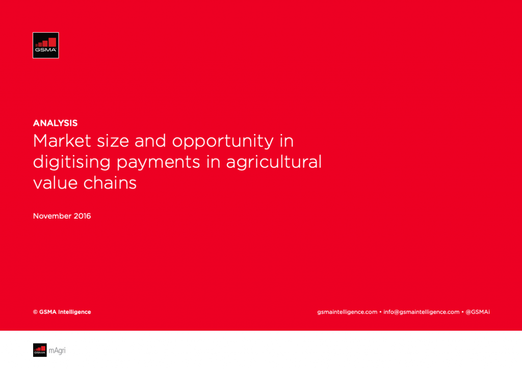 Market size and opportunity in digitising payments in agricultural value chains image