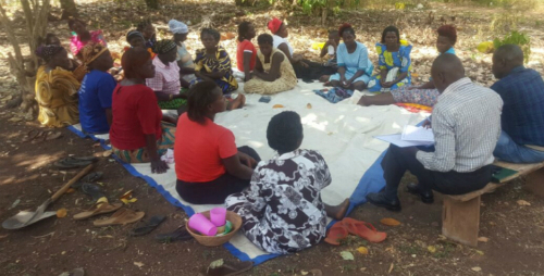 Focus group with women coffee producers in Nakaseke District, Uganda