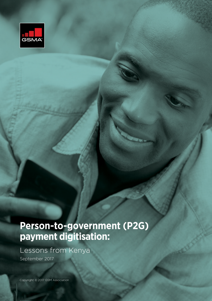 Person-to-government (P2G) payment digitisation: Lessons from Kenya image
