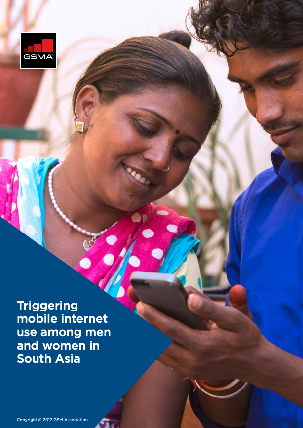 Triggering mobile internet use among men and women in South Asia image