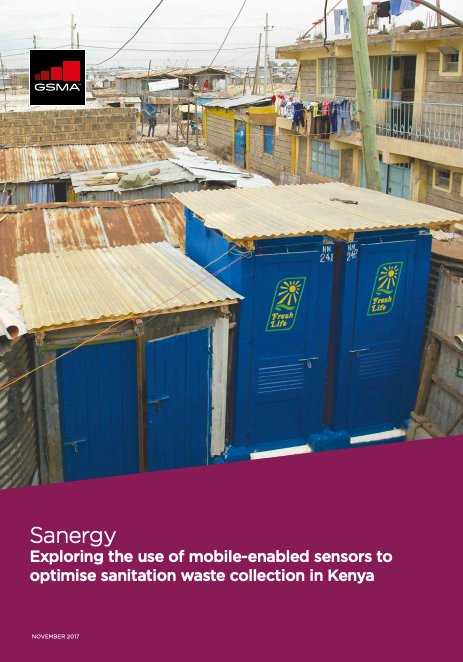 Sanergy: Exploring the use of mobile-enabled sensors to optimise sanitation waste collection in Kenya image