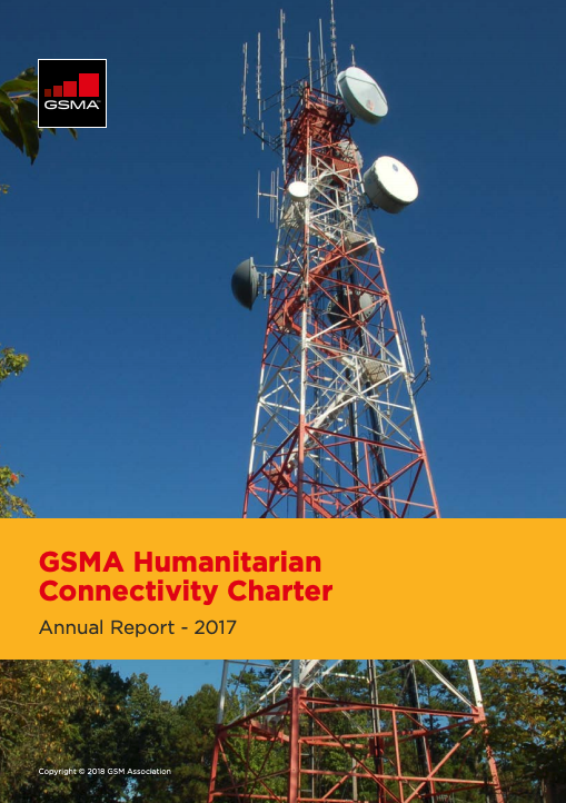 Humanitarian Connectivity Charter Annual Report – 2017 image