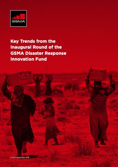 Key Trends from the Inaugural Round of the GSMA Disaster Response Innovation Fund image