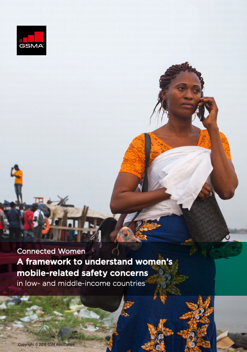 A framework to understand women's mobile-related safety concerns in low-and middle-income countries image