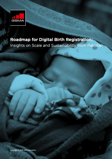 Roadmap for Digital Birth Registration: Insights on Scale and Sustainability from Pakistan image