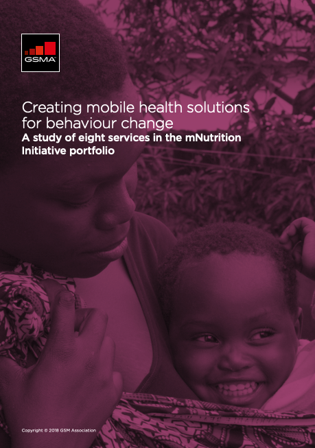 Creating mobile health solutions for behaviour change: A study of eight services in the mNutrition Initiative portfolio image