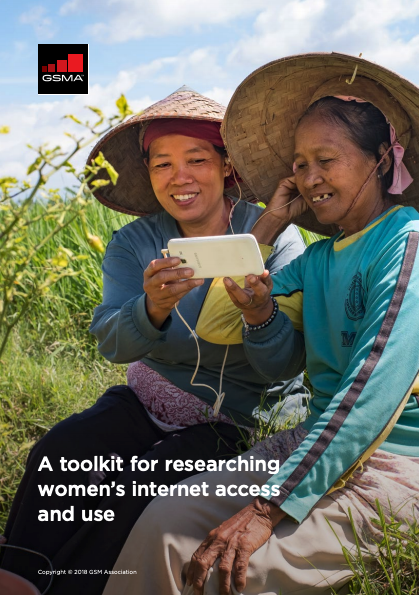 A toolkit for researching women's internet access and use image