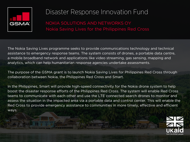 Nokia Solutions and Networks Oy - Nokia Saving Lives for the Philippines Red Cross