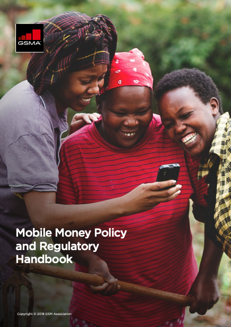 2018 Mobile Money Policy and Regulatory Handbook image