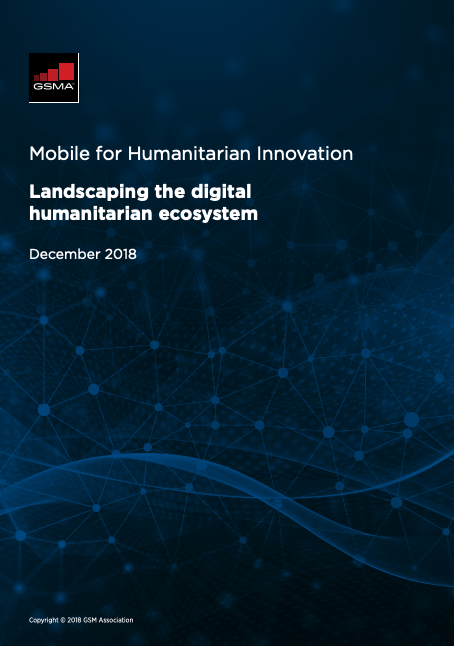 Landscaping the digital humanitarian ecosystem image