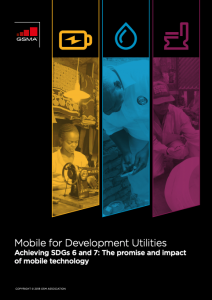 Mobile for Development Utilities Annual Report image