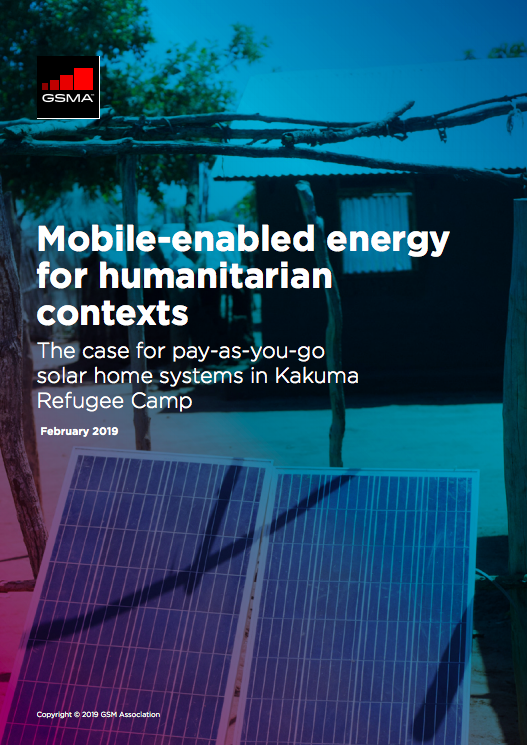 Mobile-enabled energy for humanitarian contexts image