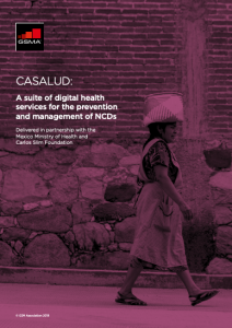 CASALUD: A suite of digital health services for the prevention and management of NCDs image