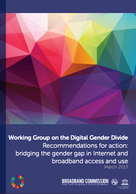Recommendations for action: bridging the gender gap in Internet and broadband access and use image