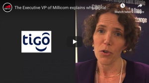 Rachel Samren, Executive VP, Millicom