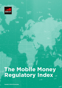 The Mobile Money Regulatory Index 2018 image
