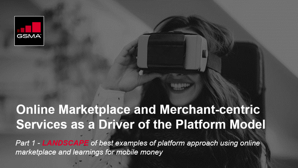 Online marketplace and merchant-centric services as a driver of the platform model image
