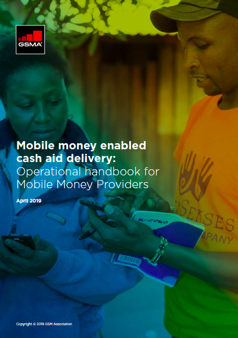 Mobile money enabled cash aid delivery: Operational handbook for mobile money providers image