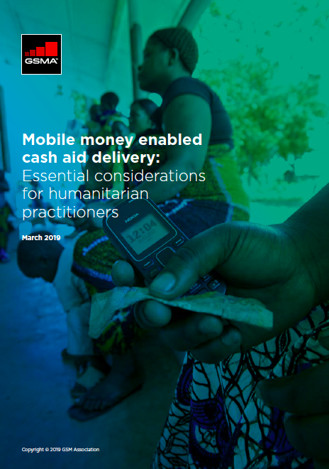 Mobile money enabled cash aid delivery: Essential considerations for humanitarian practitioners image