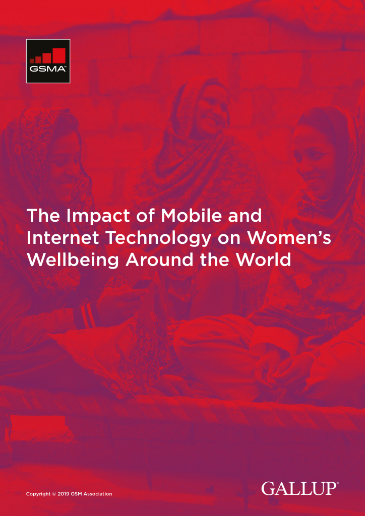 The Impact of Mobile and Internet Technology on Women's Wellbeing Around the World image