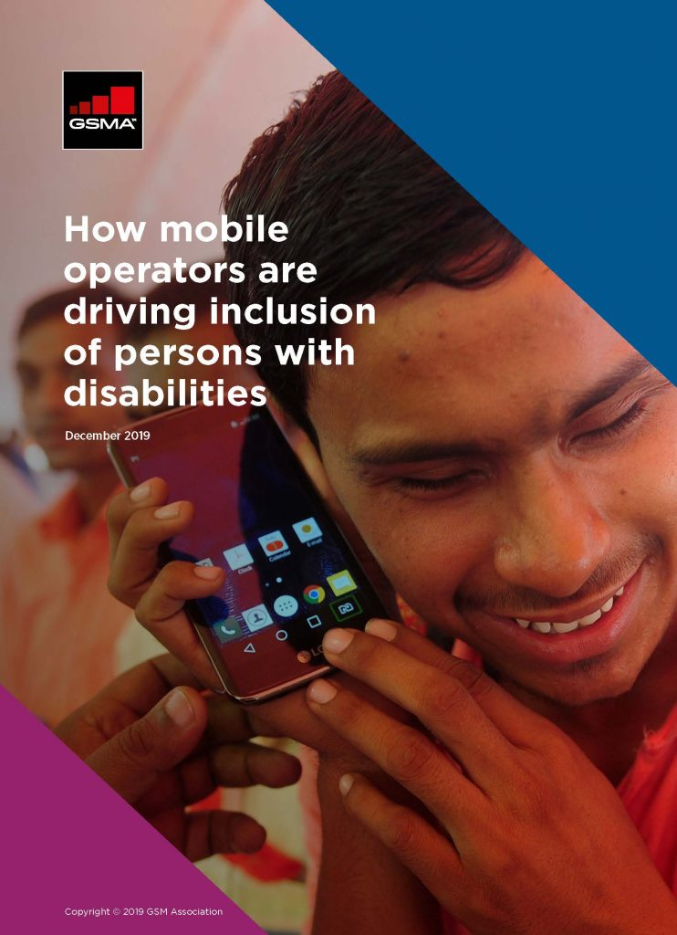 How mobile operators are driving inclusion of persons with disabilities image