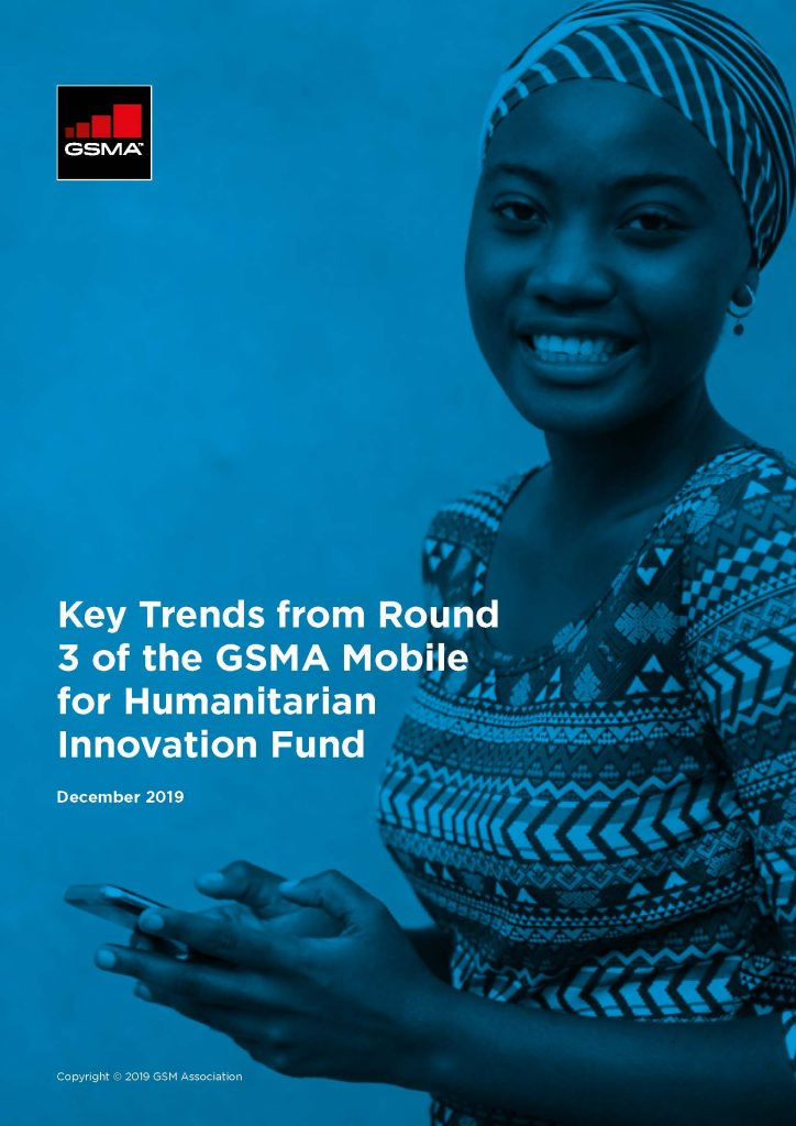 Key Trends from Round 3 of the GSMA Mobile for Humanitarian Innovation Fund image