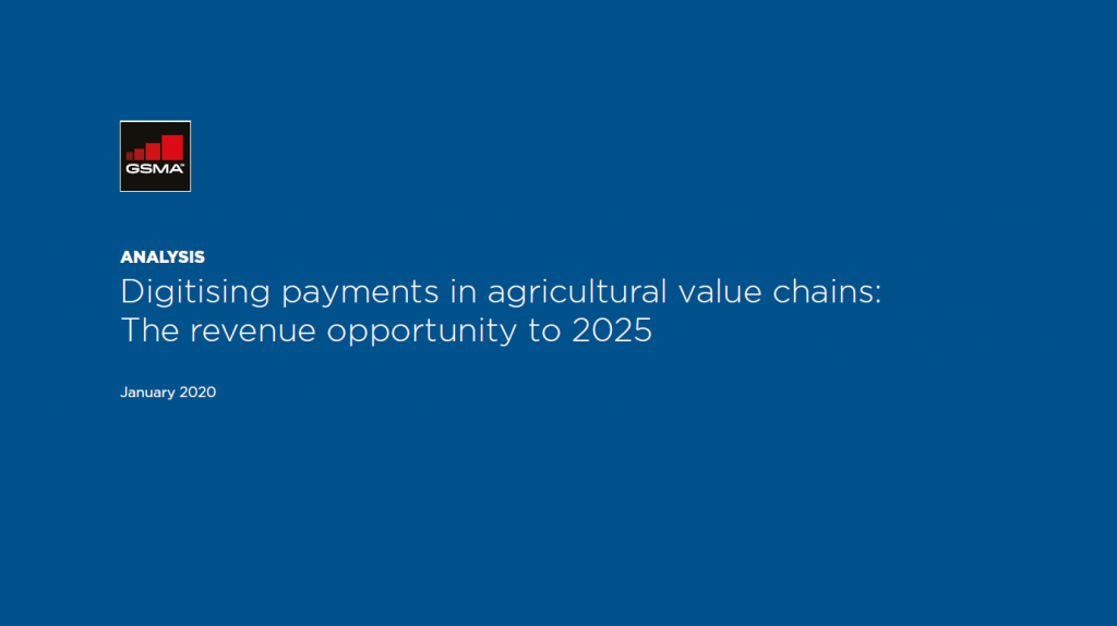 Digitising payments in agricultural value chains: The revenue opportunity to 2025 image