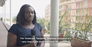 Harriet Lwakatare, Customer Services Director, Vodacom Tanzania