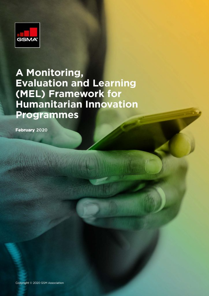 A Monitoring Evaluation and Learning (MEL) Framework for Humanitarian Innovation Programmes image