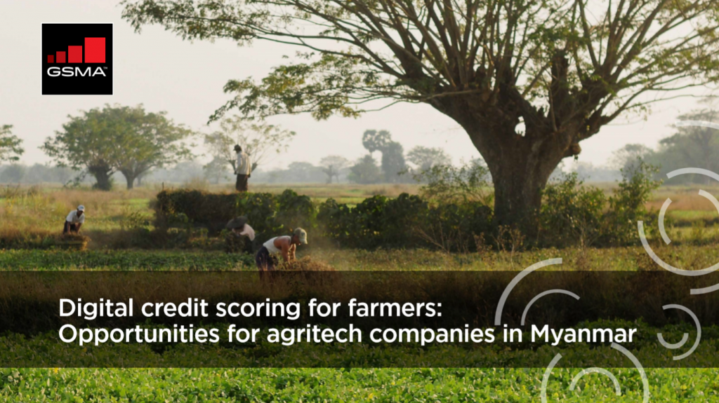 Digital credit scoring for farmers: Opportunities for agritech companies in Myanmar image