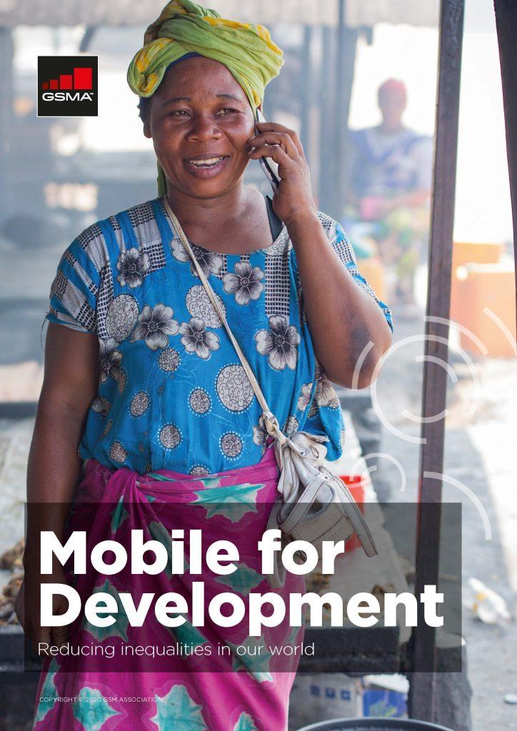 Mobile for Development brochure 2020 image