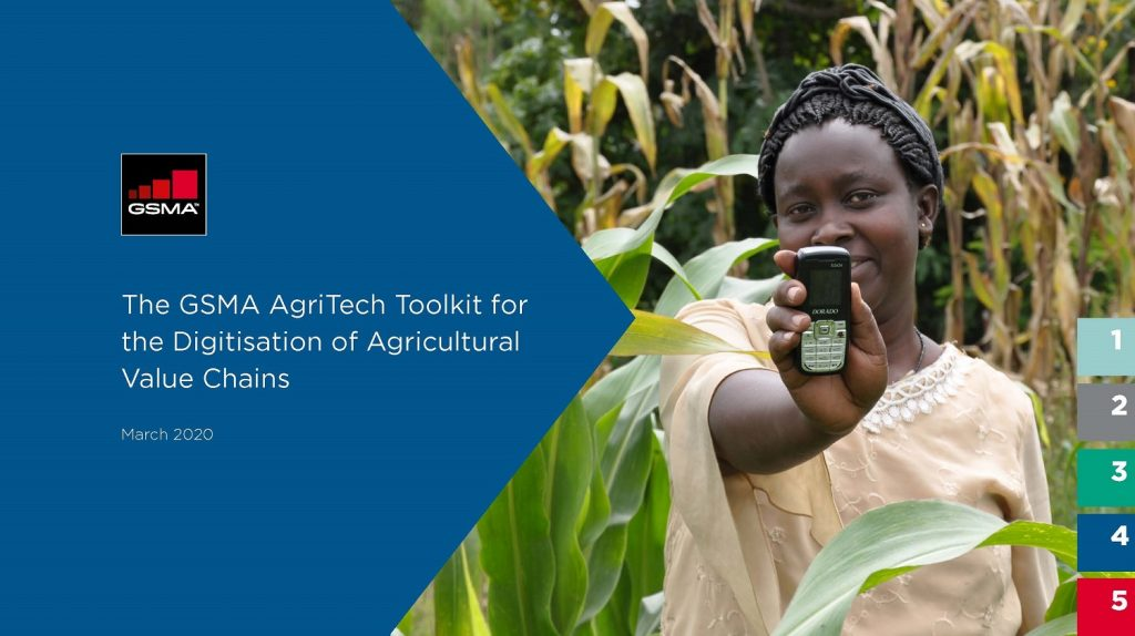 The GSMA AgriTech Toolkit for the digitisation of agricultural value chains image