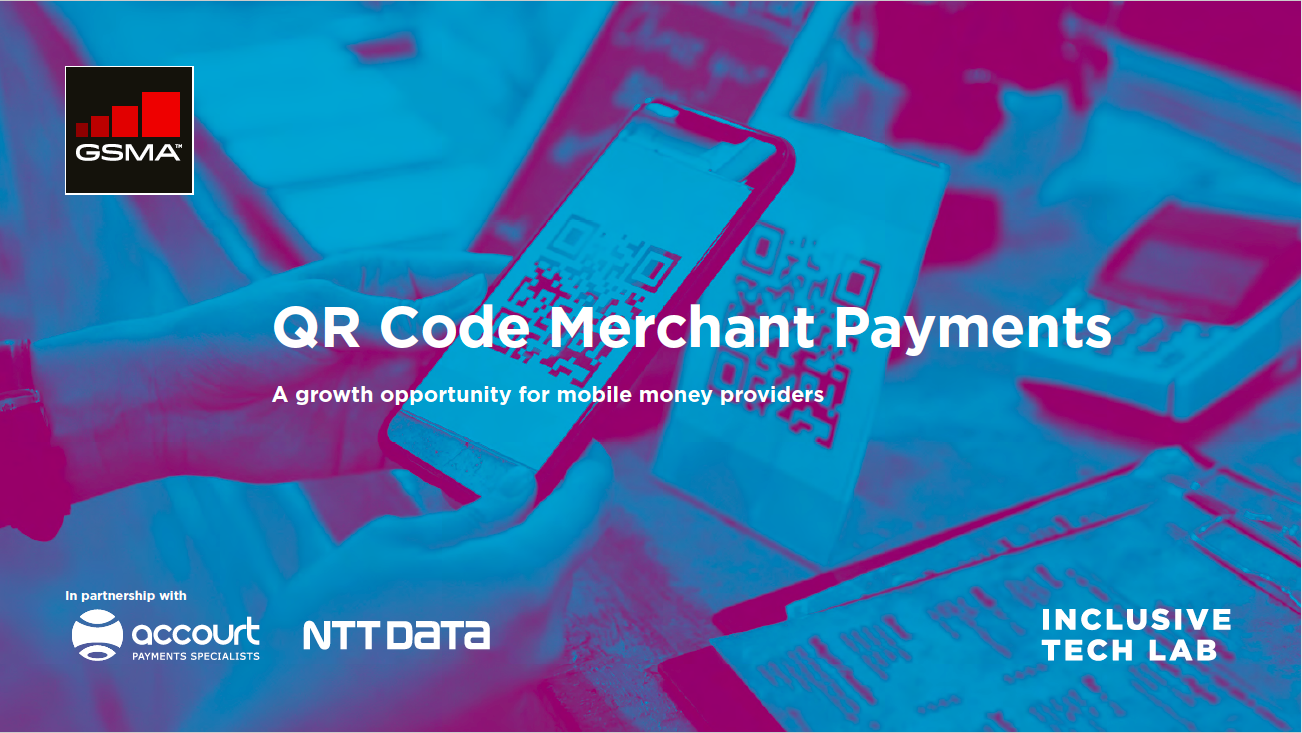 QR Code Merchant Payments.  A growth opportunity for mobile money providers image
