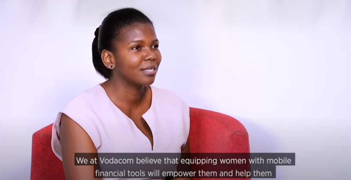 Jacqueline Ikwabe, Business Development Manager, Financial Services, Vodacom Tanzania