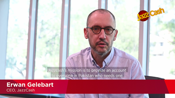 Erwan Gelebart, CEO, JazzCash