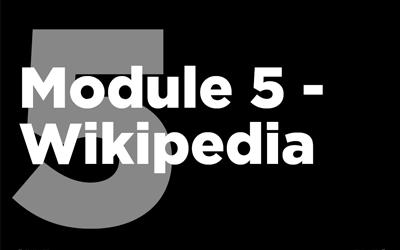 MISTT Thumbnail - 5. Wikipedia Module