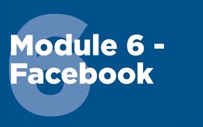 MISTT Thumbnail - 6. Facebook Module