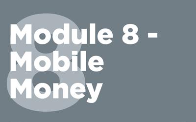 MISTT Thumbnail - 8. Mobile Money Module