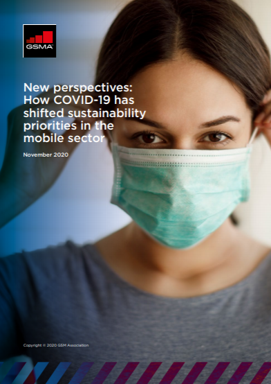 New perspectives: How COVID-19 has shifted sustainability priorities in the mobile sector image