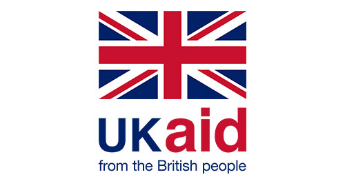 UK aid for the British people logo
