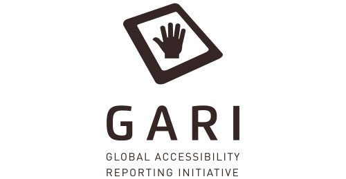 Global Accessibility Reporting Initiative logo