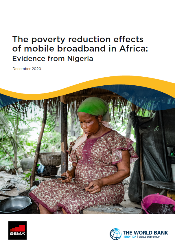 The poverty reduction effects of mobile broadband in Africa: Evidence from Nigeria image