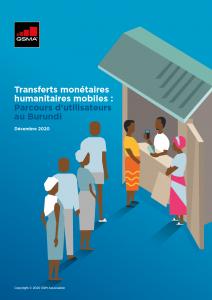 Mobile money enabled cash assistance: User journeys in Burundi image