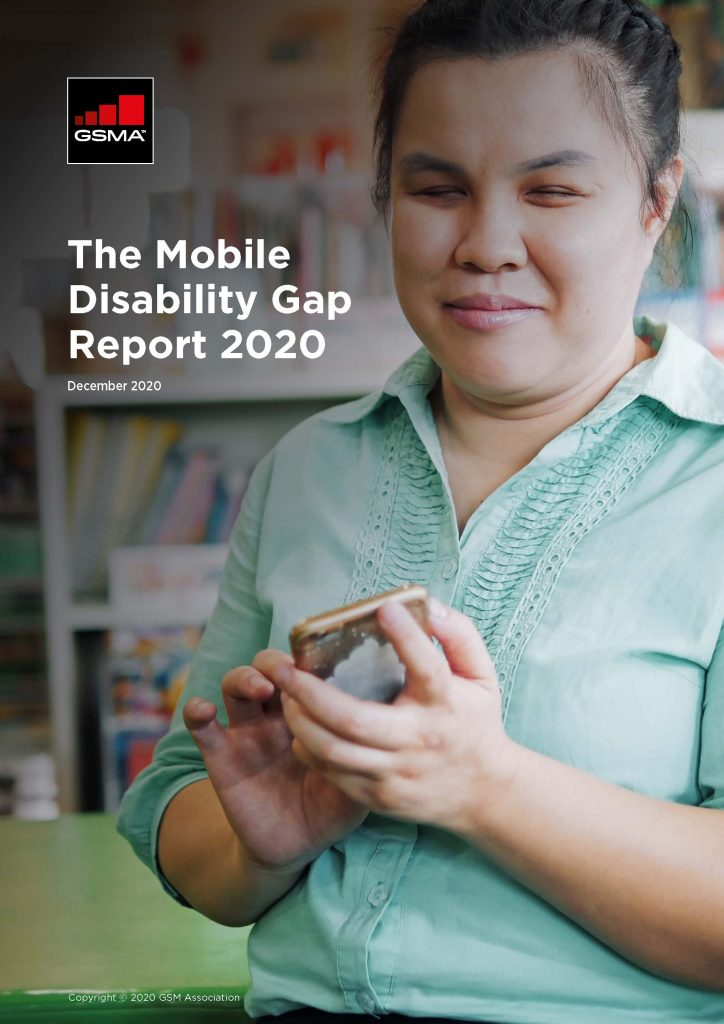 The Mobile Disability Gap Report 2020 image