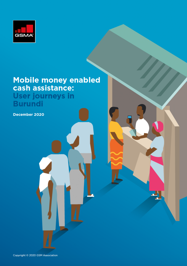 Mobile money enabled cash assistance: User journeys in Burundi image