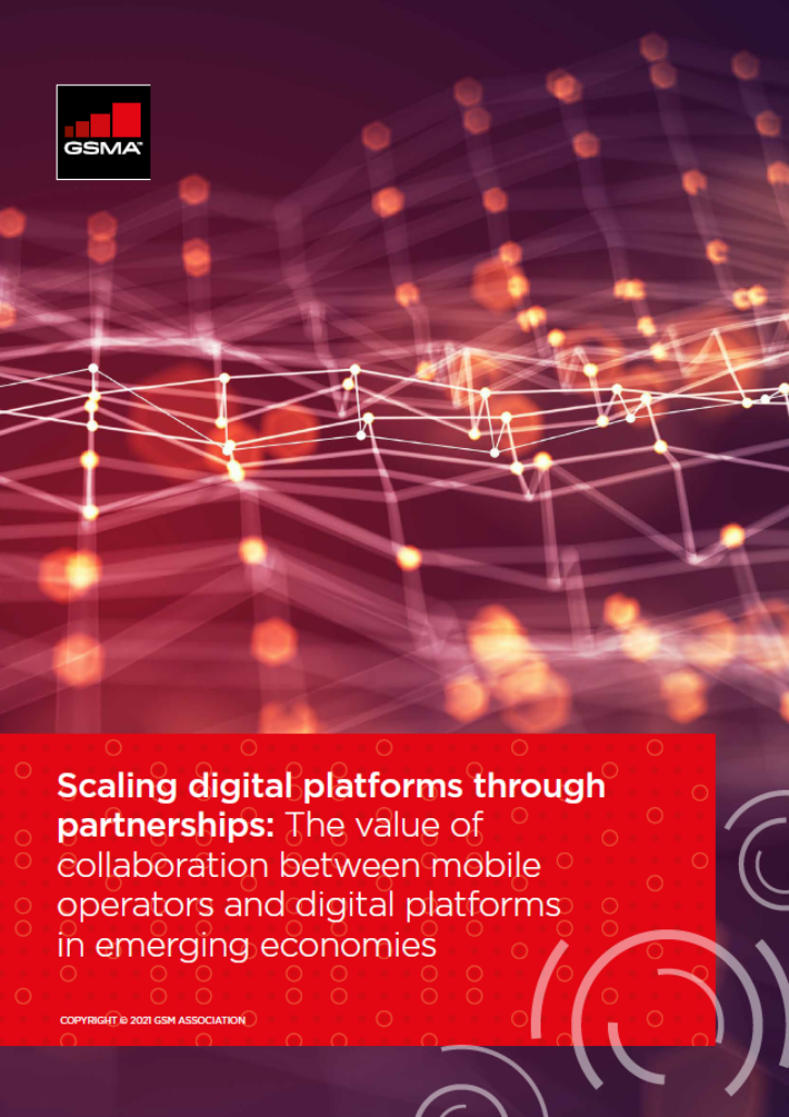 Scaling digital platforms through partnerships: The value of collaboration between mobile operators and digital platforms in emerging economies image