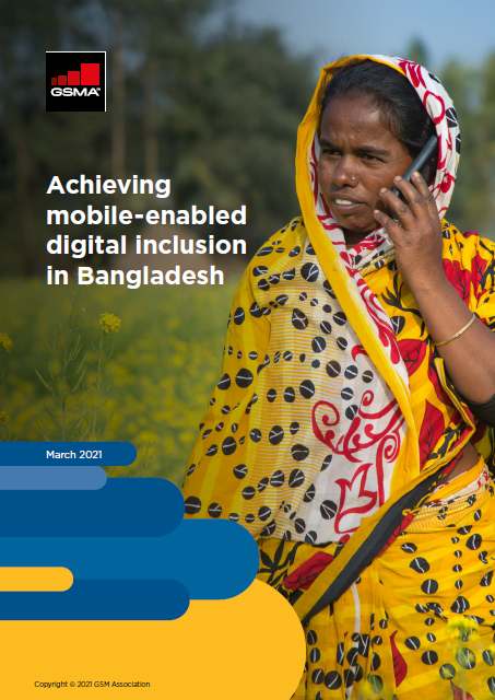 Achieving mobile-enabled digital inclusion in Bangladesh image