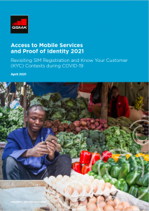 Access to Mobile Services and Proof of Identity 2021